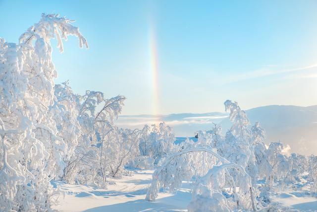 虹の柱(ノルウェー)
