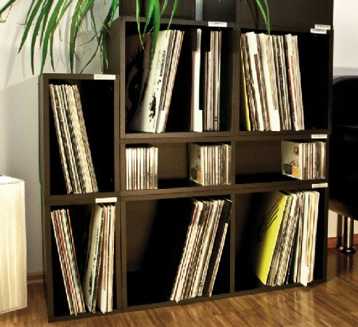 vinyl record storage glorious record storage future home pinterest rangement et musique. Black Bedroom Furniture Sets. Home Design Ideas