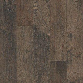 "Armstrong American Scrape: Northern Twilight 3/8"" x 5"" Engineered Hickory Hardwood EAS513"