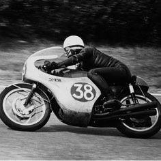 1962年 世界GP イタリア モンツァ  HONDA RC163 250cc