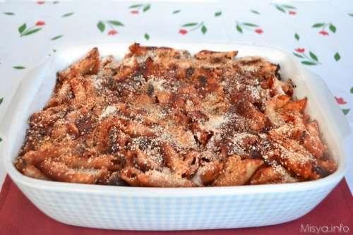 Ricette Pasta Pasta al forno ai peperoni