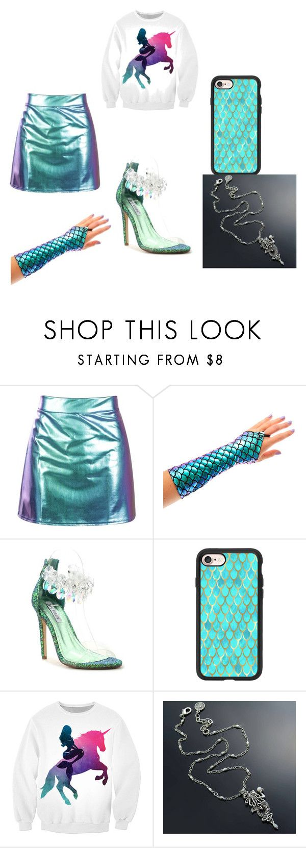 """""""Mermaids are real"""" by msbward68 ❤ liked on Polyvore featuring Cape Robbin and Casetify"""