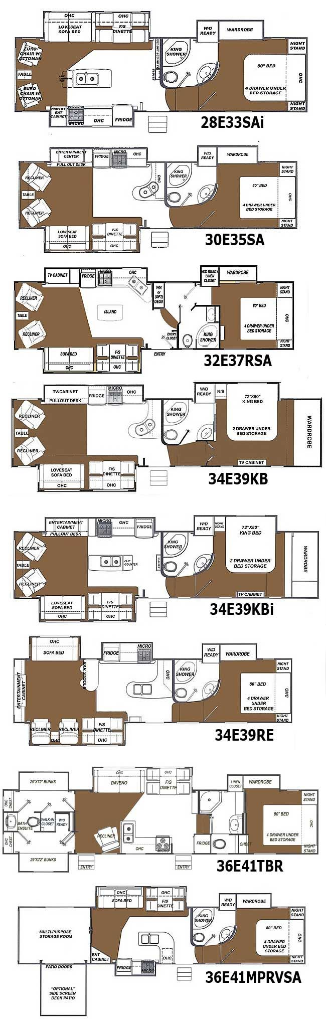 5th wheel master bedroom   best RVus images on Pinterest  Travel trailers th wheels and