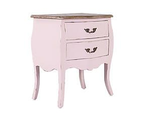 Nachtkastje Alessandra, roze, B 55 cm