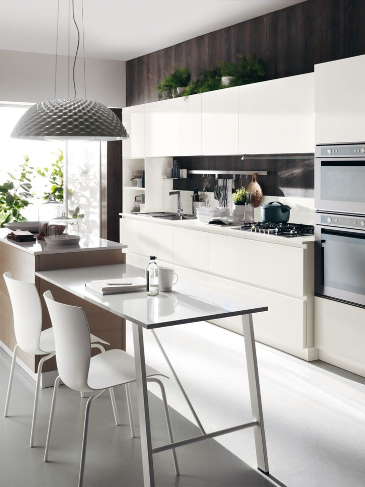 "A kitchen that becomes the ""stage"" for daily life and where the relationships are fostered 
