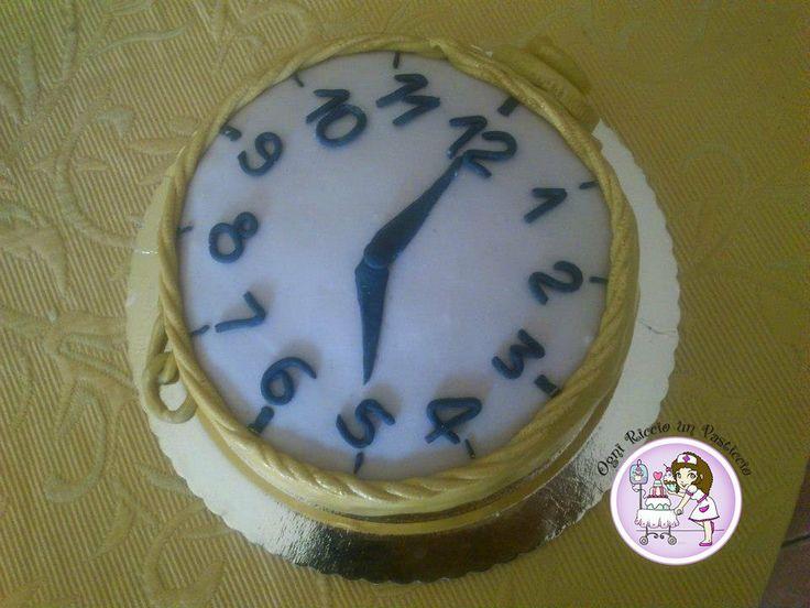 Clock cake!