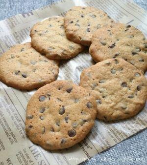 サックサク!簡単チョコチップクッキー