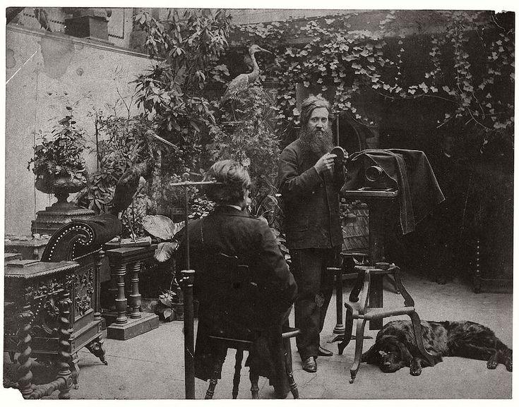 Studios from XIX century http://monovisions.com/photographic-atelier-studio-xix-century-historic/