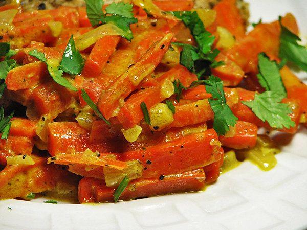 Creamy Matchstick Carrots