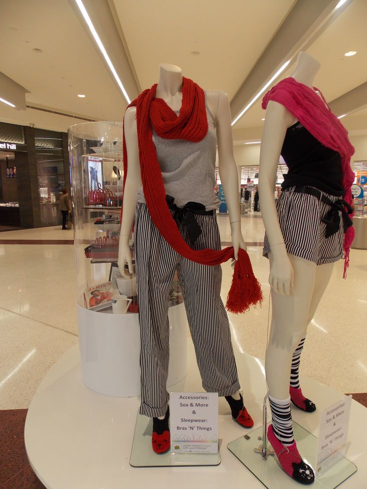 Sleepwear from Bras 'N' Things with Sox & More accessories-August 2013.