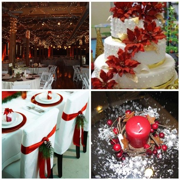 125 Best Christmas Wedding Ideas Images On Pinterest | Marriage,  Centerpiece Ideas And Crafts