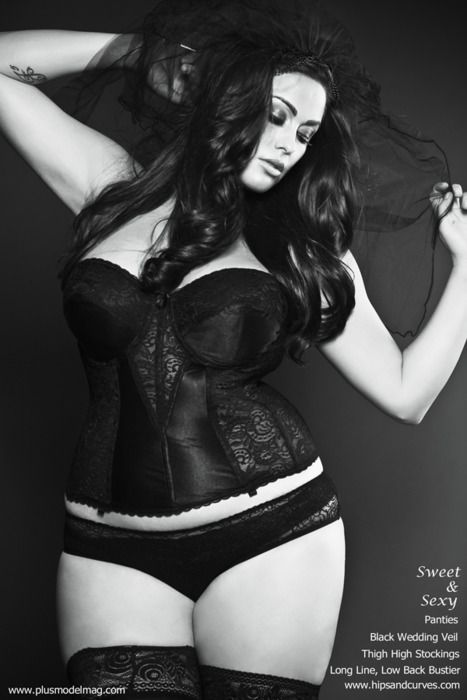 So sexy and gorgeous. And hipsandcurves.com is an excellent site for lingerie for curvy girls.
