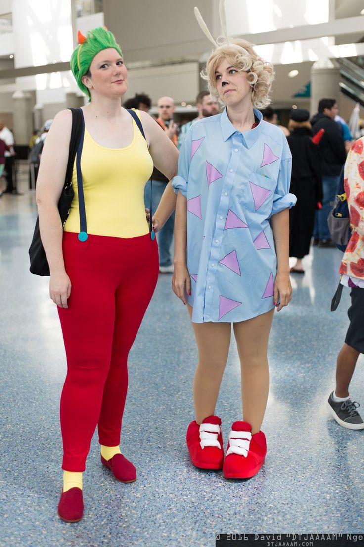 """DTJAAAAM en Twitter: """"Heffer and Rocko from Rocko's Modern Life. #cosplay…"""