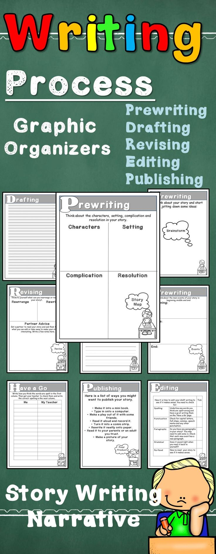 Process of writing a story