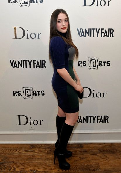 "Kat Dennings Photos - Actress Kat Dennings attends the Kimberly Brooks' ""The Stylist Project"" exhibition hosted by Vanity Fair and Dior held at LeadAPRON on March 1, 2010 in Los Angeles, California. - Vanity Fair And Dior Host Kimberly Brooks' ""The Stylist Project"" Exhibition"