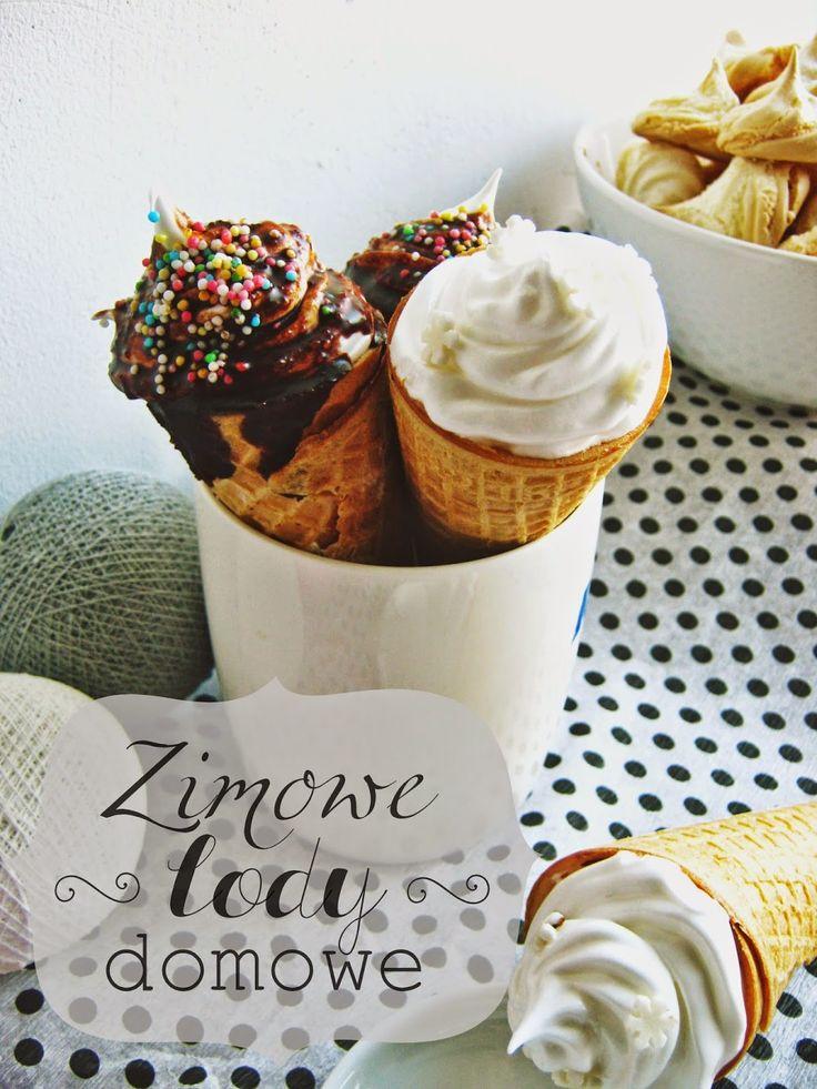 Ciepłe lody domowej roboty - jak zrobić? egg white recipes - ice cream