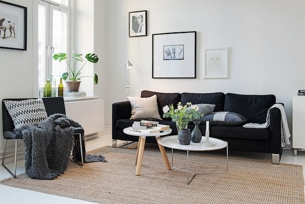 Shades of grey in a lovely Gothenburg home