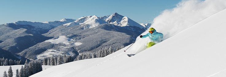 Vail, CO  The List!  Mountains in N. America to ski/visit. Jenn has yet to visit