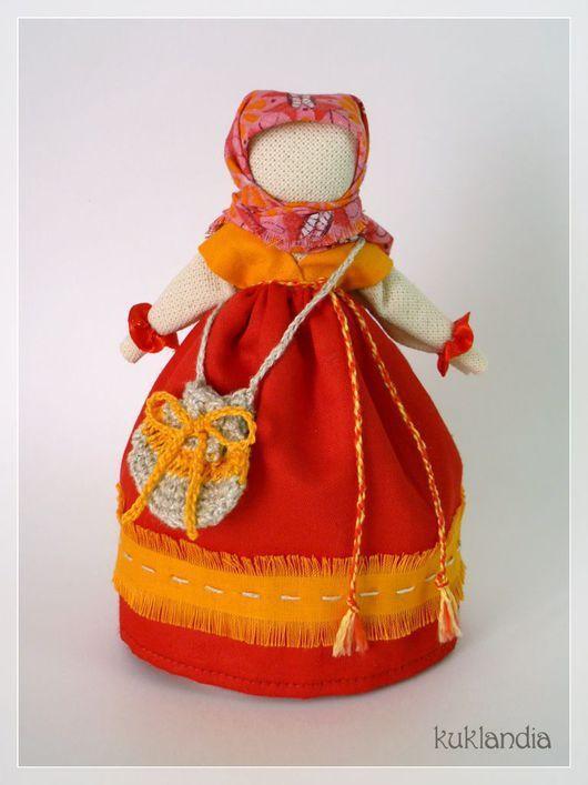Народные куклы ручной работы. Ярмарка Мастеров - ручная работа. Купить Успешница, оберег на удачу. Handmade. Кукла, кукла успешница