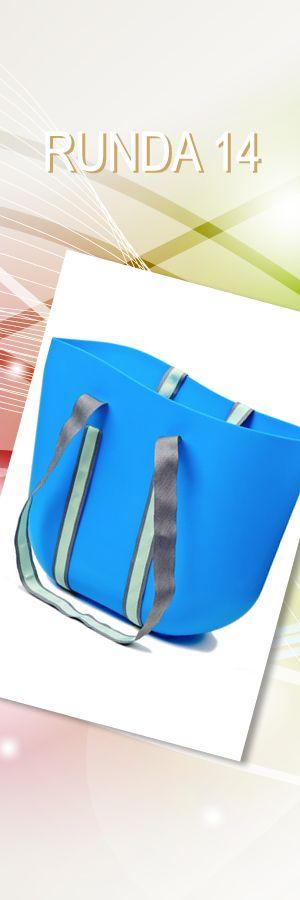 Torba Jelly Blue Summer Bag, Projektant: RUBBERIES; Wartość: 89 zł. Poczucie elegancji: bezcenne. Powyższy materiał nie stanowi oferty handlowej.