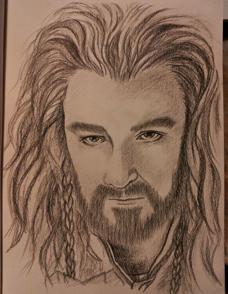Thorin Oakenshield Drawing Thorin In My Side Pinterest