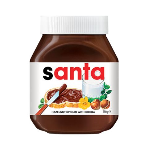 A personalised Nutella Jar from Myer would make a great Christmas gift. #myer #christmas #giftguide #yum #nutella