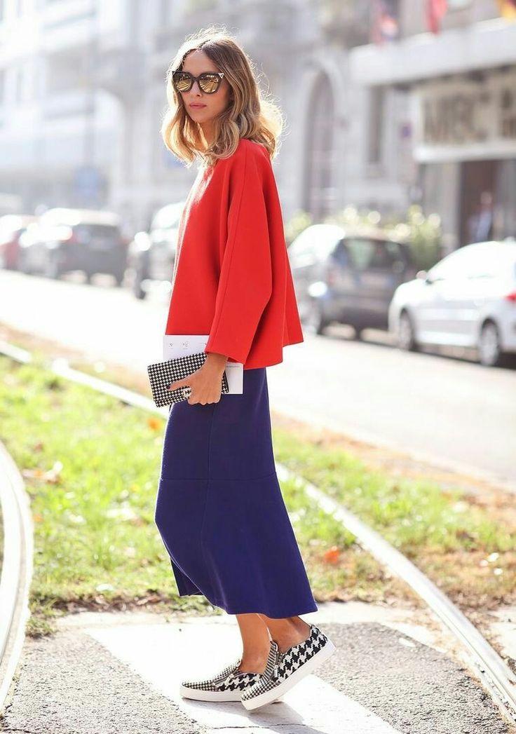 Красный+синий и  черно-белый( куриная лапка) цвета для клетчатых брюк