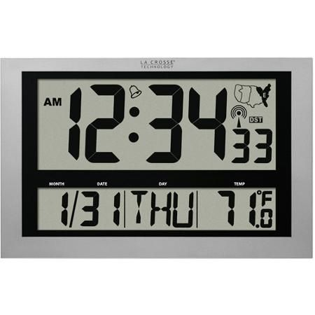 La Crosse Technology Digital Clock with Temperature-WT-8002U - The ...