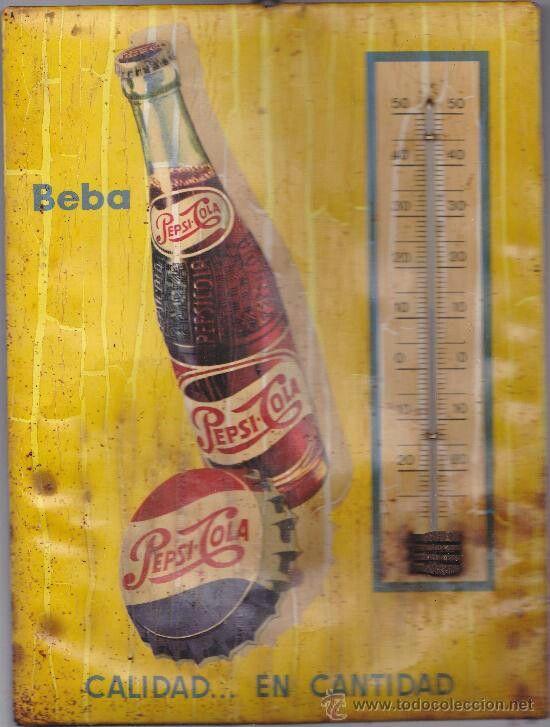 Anuncio Pepsi Cola años 60. España.