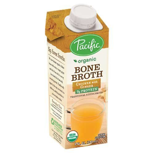 Pacific Natural Foods Organic Bone Broth Chicken With Ginger
