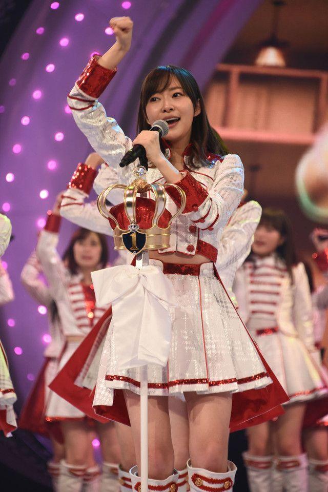 「第67回NHK紅白歌合戦」AKB48リハーサル時の指原莉乃(HKT48)。