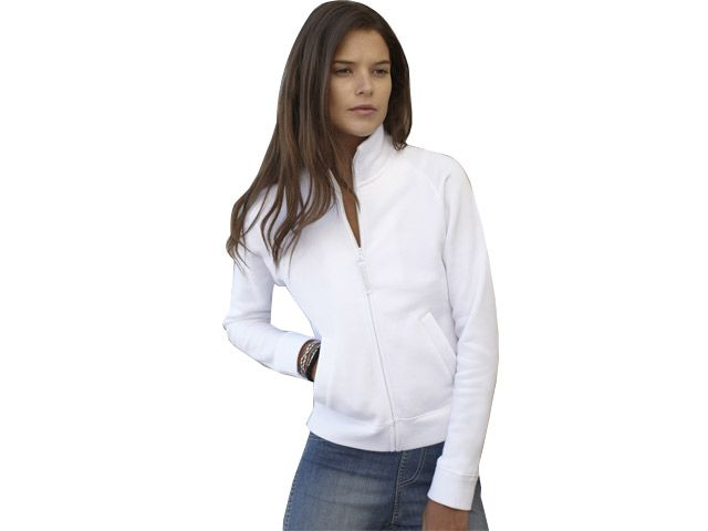 Lady-Fit Sweat Jacket at Ladies Sweaters | Ignition Marketing Corporate Clothing