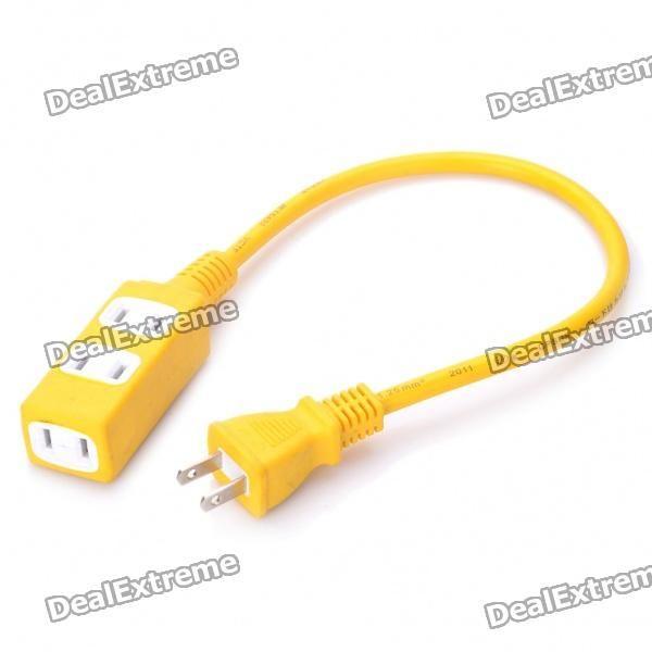 Voltage: 125V, 15A - 2-flat-pin plug - Cable Length: 30cm http://j.mp/1kU37Hs