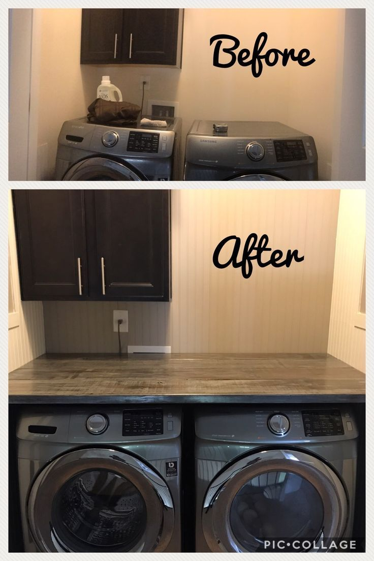 Laundry Room Makeover Laundry Room Countertop Laundry Room