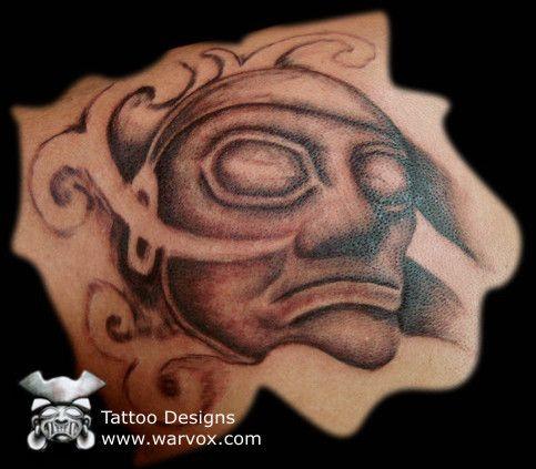 Olmec Guardian Tattoo