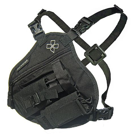 Coaxsher RP-1 Scout Radio Chest Pack.  Great piece of tactical gear useful for Wildland Firefighters, Search and Rescue, Ski Patrol Climbing, ARMY, NAVY, MARINES, Military, Police, FBI and more.  Small, streamlined design is great for smaller torsos or for people wanting a lower profile radio pack.   Also available in an extended size option for those with broader than average chests or for wearing over bulky jackets.
