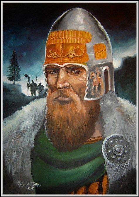 Coiful de dac de la Agighiol- Dacian helmet from Agighiol