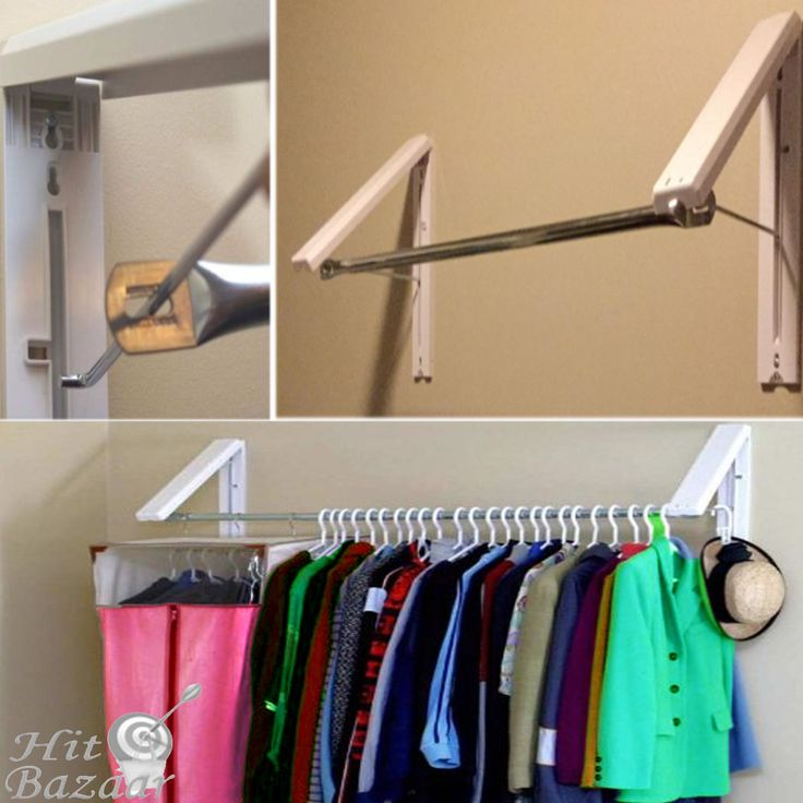 Wall Mounted Clothes Hanger Holder