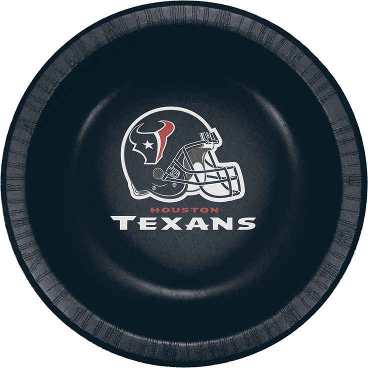 Creative Houston Texans 20 oz Paper Bowls, Case of 96