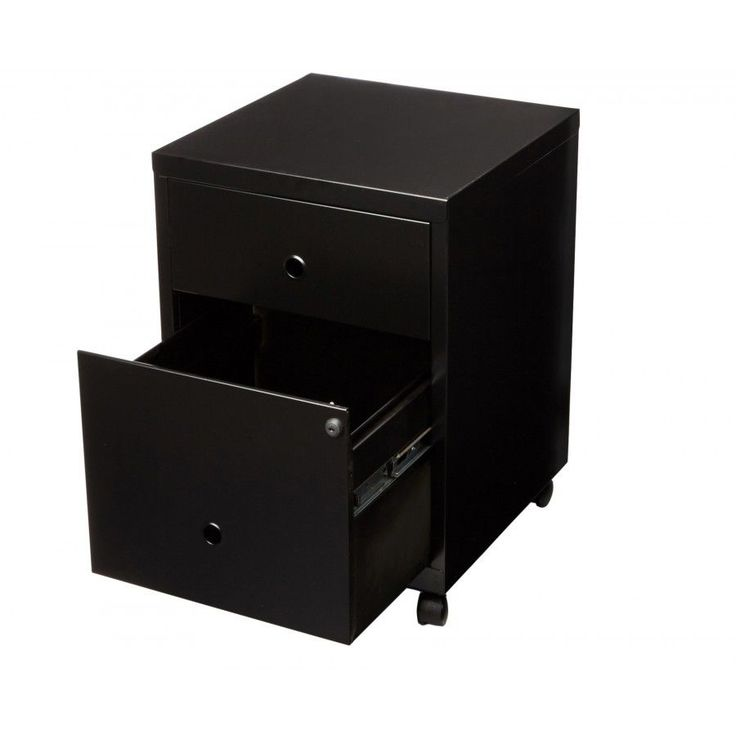 Filing Cabinet Drawer Office Supplies Pierre Henry A4 2 Combi Black Documents UK
