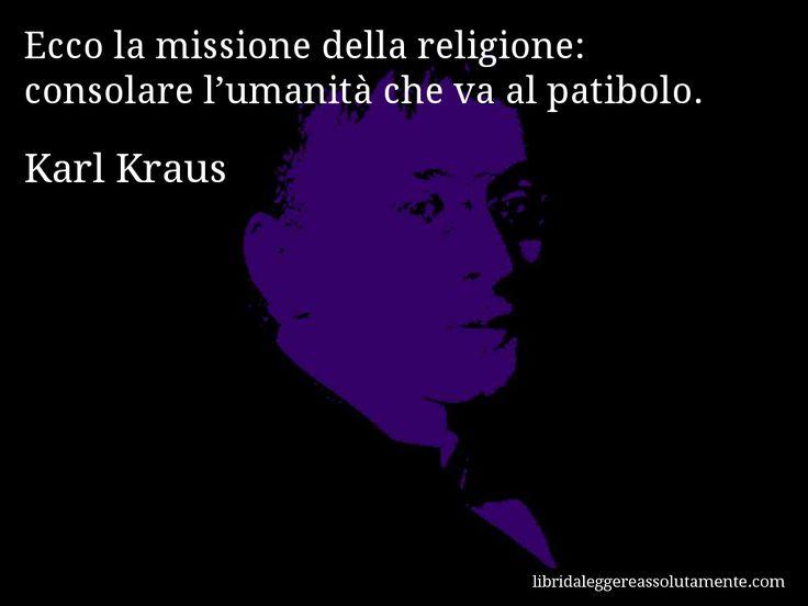 Cartolina con aforisma di Karl Kraus (85)
