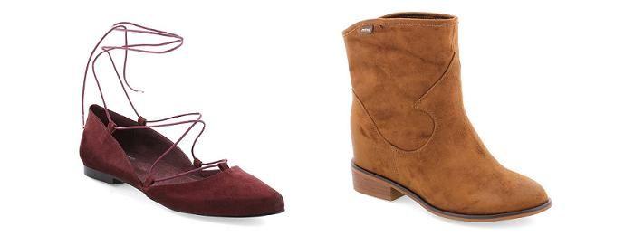 Zapatos Mustang otoño invierno 2015 2016: botines, zapatillas, bailarinas…