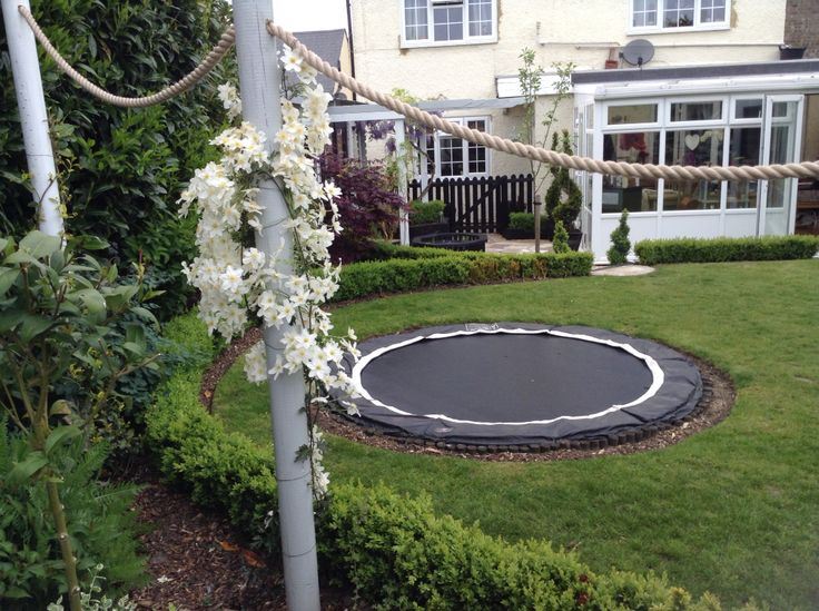 8ft sunken trampoline