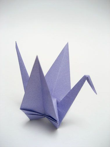 Origami Crane Easy Way