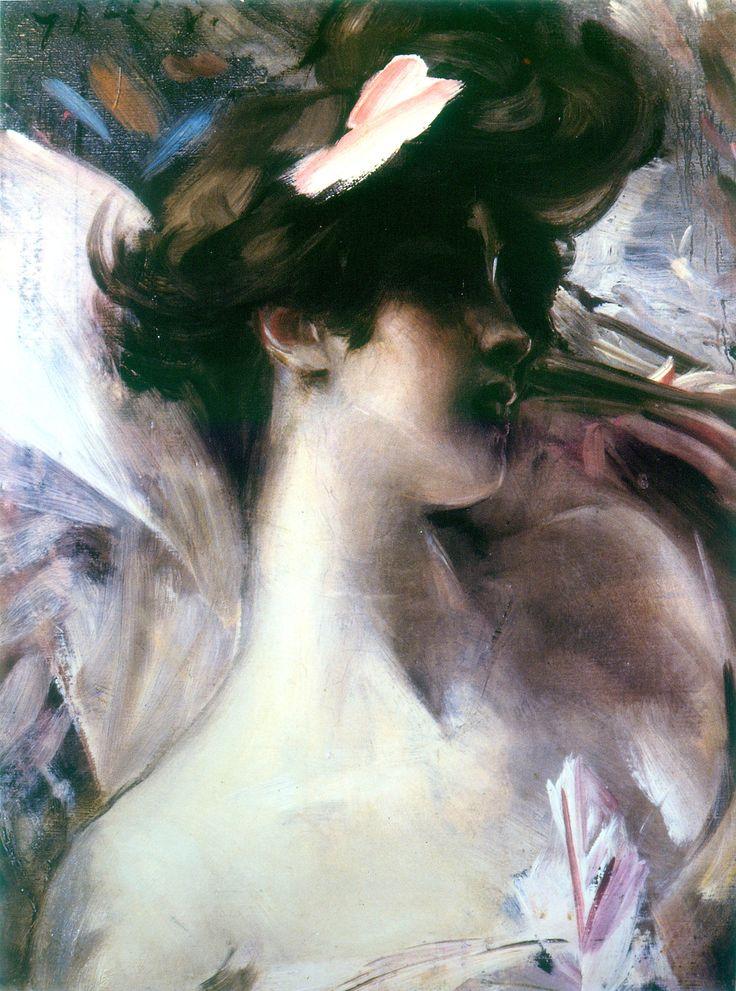 Giovanni Boldini, Ritratto di Lina Cavalieri