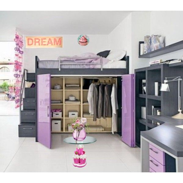 Cute Room For A Teen Or A 10 Year Old By Jenifer Villafana On Polyvore.  Teen Girl BedroomsSmall ...