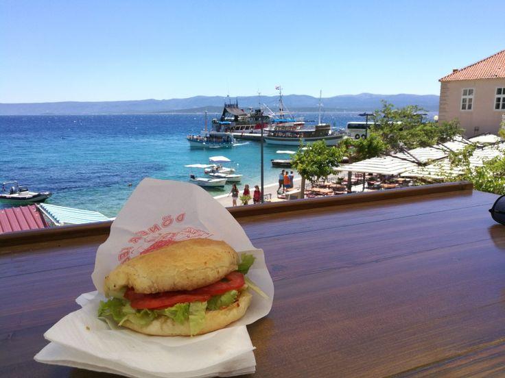 Burger 🍔🌞👌 #bol#brač#croatia