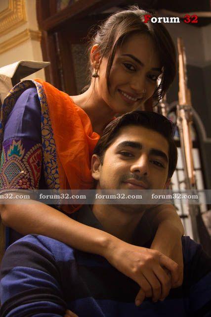 Surbhi Jyoti (Sanam) and Shehzaad Shaikh (Rehan) from Qubool Hai