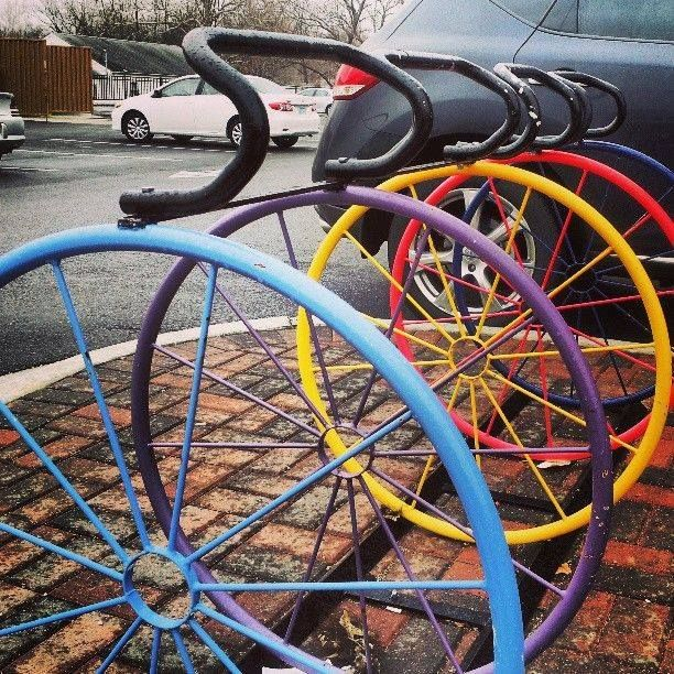 48 best images about curiosities on pinterest creative for Creative bike storage