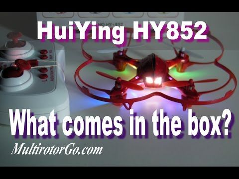 Having Fun With HuiYing HY 852 Quadcopter with Awesome LEDs. I will post the Review soon. You can get it cheap  here:  http://shrsl.com/?~8rjx or here: http://shrsl.com/?~8rjy